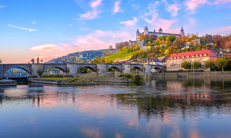 Brücke über der Pegnitz
