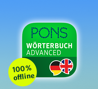 Icon for PONS Dicitionary Advanced App German English offline