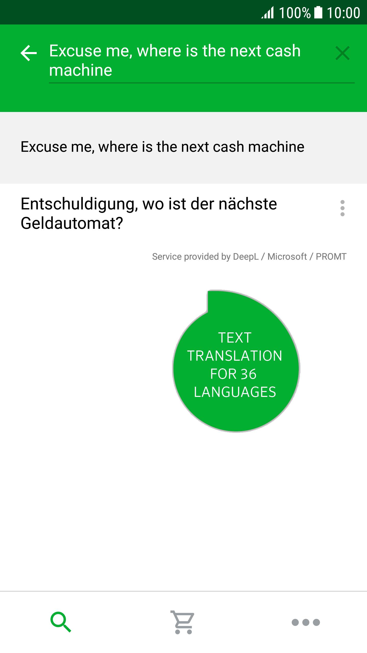 online übersetzung deutsch französisch