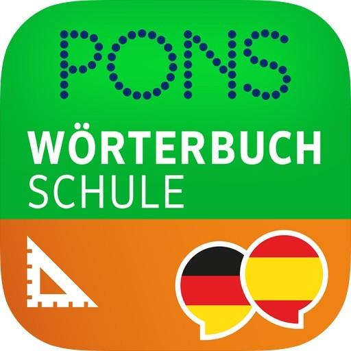 App: Wörterbuch Spanisch - Deutsch SCHULE (iOS)