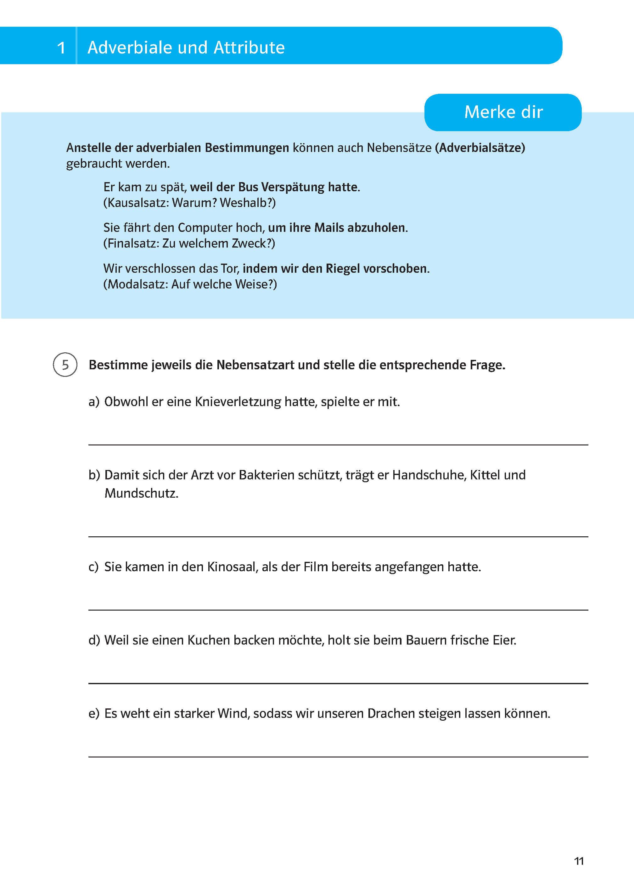 Klett Sicher durch die 20. Klasse   Deutsch, Mathematik, Englisch