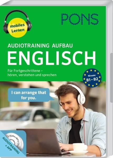 PONS Audiotraining Aufbau Englisch