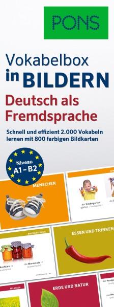 PONS Vokabelbox in Bildern Deutsch als Fremdsprache (A1-B2)
