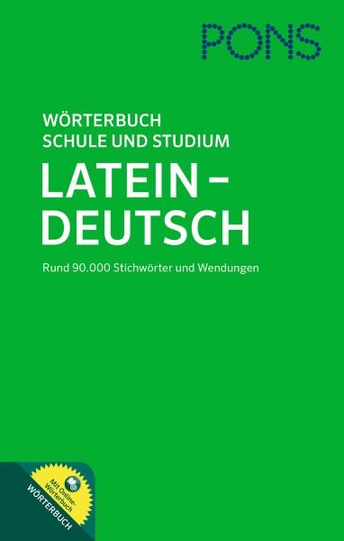 PONS Wörterbuch für Schule und Studium Latein