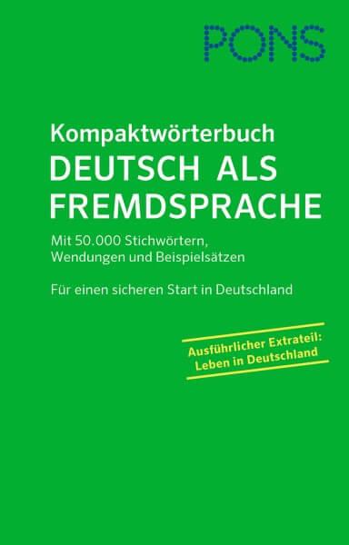 PONS Kompaktwörterbuch Deutsch als Fremdsprache