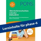 PONS Oberstufenwortschatz Englisch Literatur