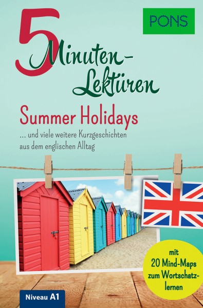 PONS 5-Minuten-Lektüren Englisch A1 - Summer Holidays