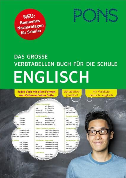 PONS Das große Verbtabellen-Buch für die Schule Englisch
