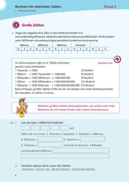 PONS Das große Übungsbuch Mathematik 5.-10. Klasse
